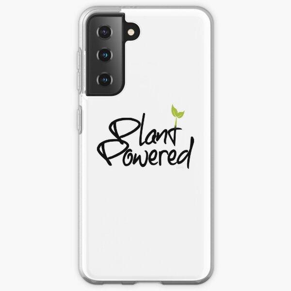 Plant Powered - Shine bright like a Vegan  Samsung Galaxy Soft Case