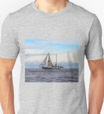 Pirate Ship in the Galapagos Islands Unisex T-Shirt