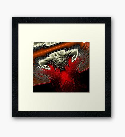The Devil's in the Details Framed Print