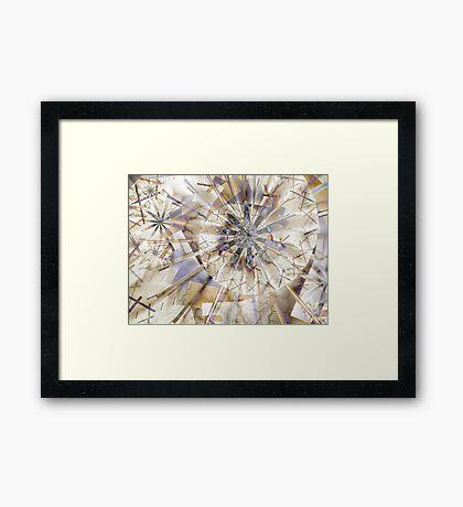 Bezier Framed Print
