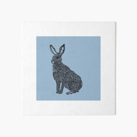 Rabbit Art Board Print