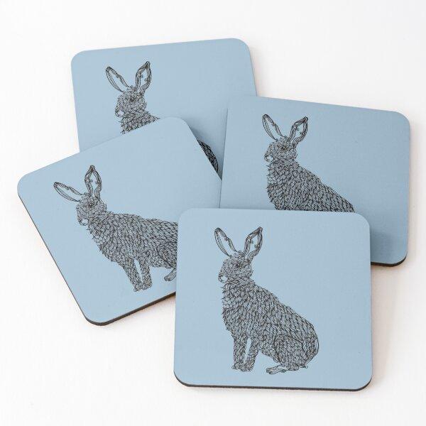 Rabbit Coasters (Set of 4)
