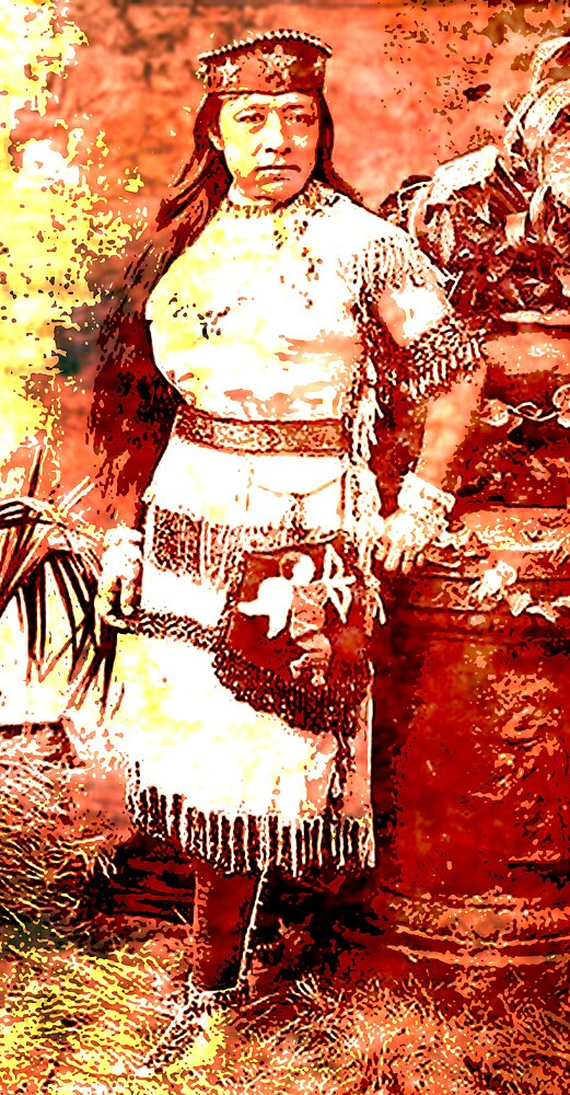 SARAH WINNEMUCCA ~ (THOCMETONY) by Tammera