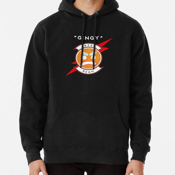 High Quality - Original Artist -Lazarbeam with Red Lightning Pullover Hoodie