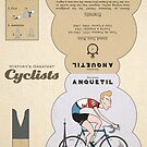 Jacques Anquetil by Jack Chadwick