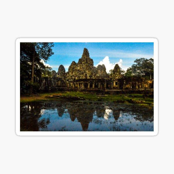 Cambodian Temple Sticker