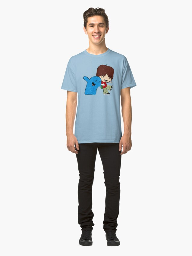 Alternate view of Best Friends Bloo and Mac Classic T-Shirt