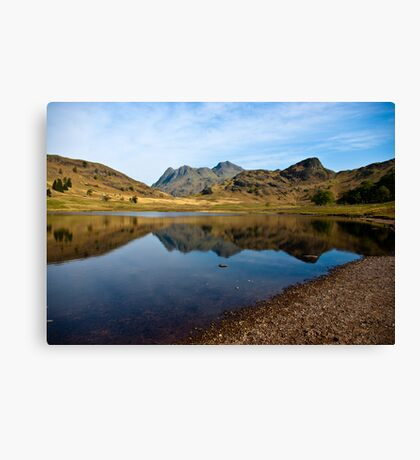 Blea Tarn - Lake District (May) Canvas Print