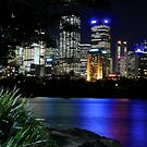 Sydney Skyline After Hours by normanorly
