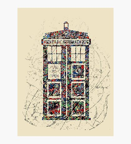 Police Box  Photographic Print