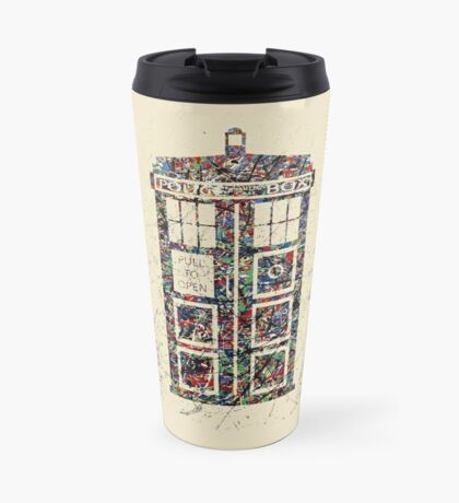Police Box  Travel Mug
