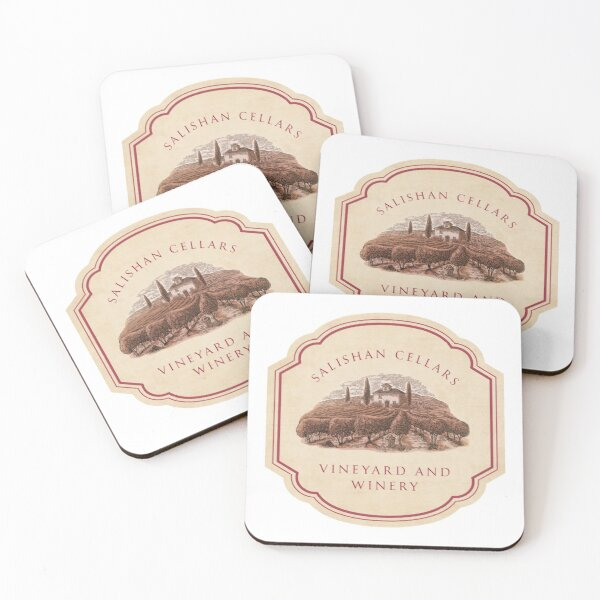 Salishan Cellars Coasters (Set of 4)