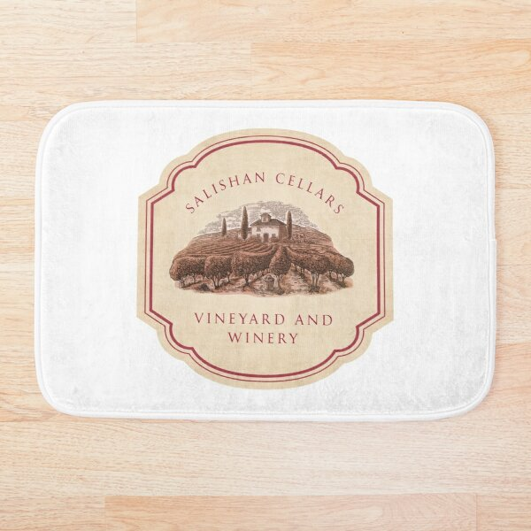 Salishan Cellars Bath Mat