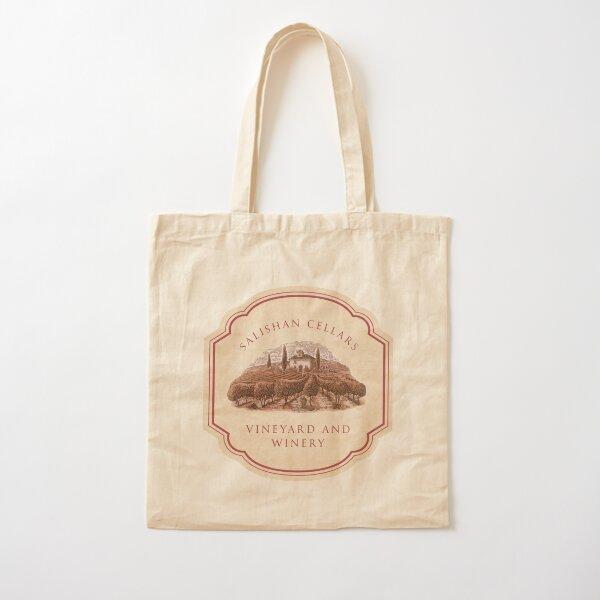 Salishan Cellars Cotton Tote Bag