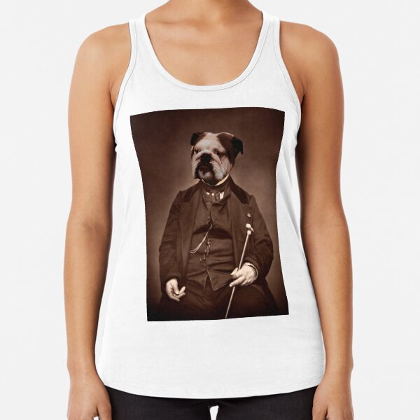 LORD ENGLISH BULLDOG Racerback Tank Top