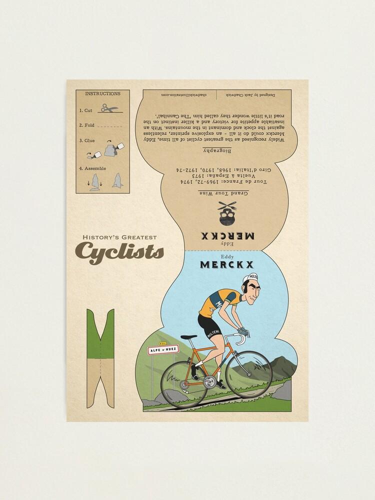 Alternate view of Eddy Merckx Photographic Print