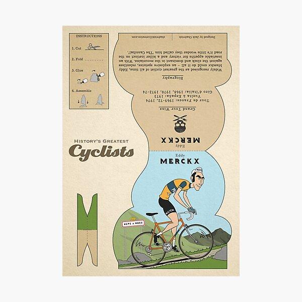 Eddy Merckx Photographic Print