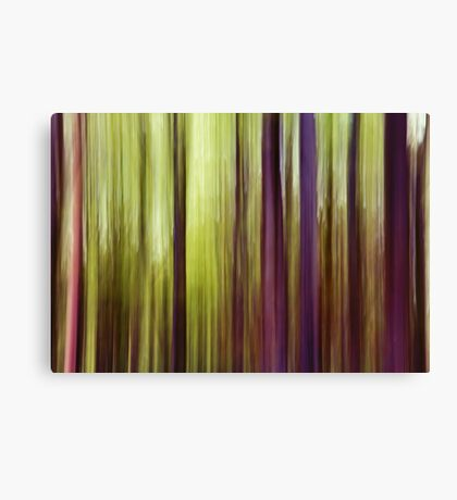 Woodland Abstract Canvas Print