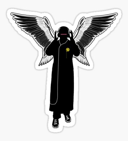 Audio Angel Sticker