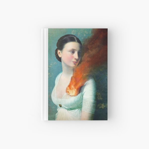 Portrait of a heart Hardcover Journal