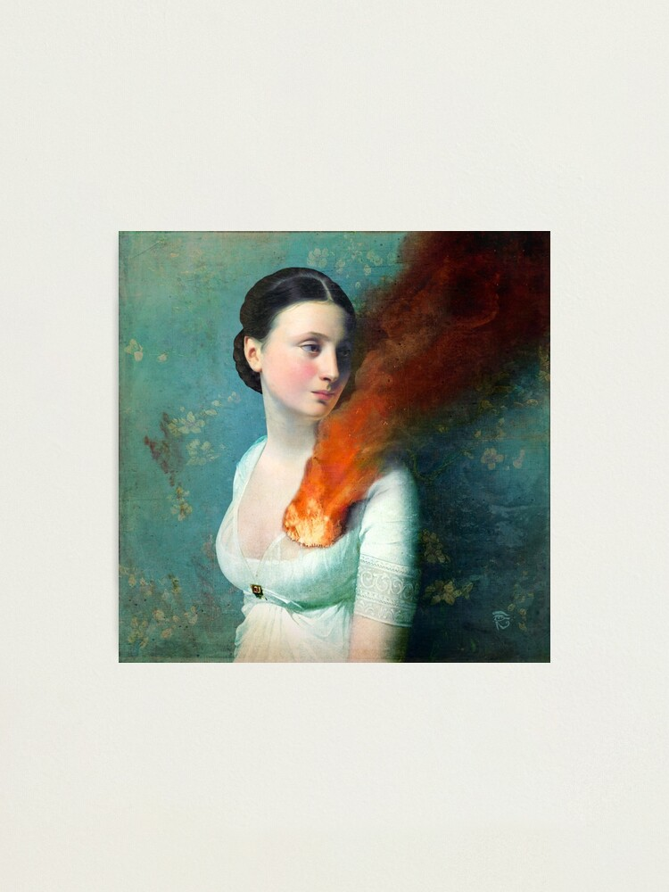 Alternate view of Portrait of a heart Photographic Print