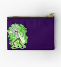 Y-y-you're a good kid, Morty Zipper Pouch