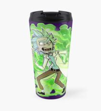 Y-y-you're a good kid, Morty Travel Mug