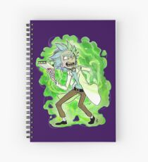 Y-y-you're a good kid, Morty Spiral Notebook