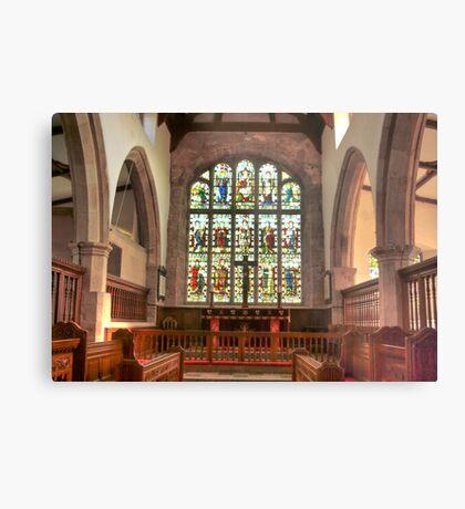 The Altar Window Metal Print