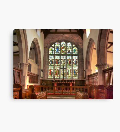 The Altar Window Canvas Print