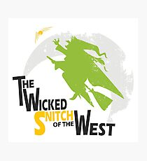 The Wicked Snitch of the West - Light Photographic Print