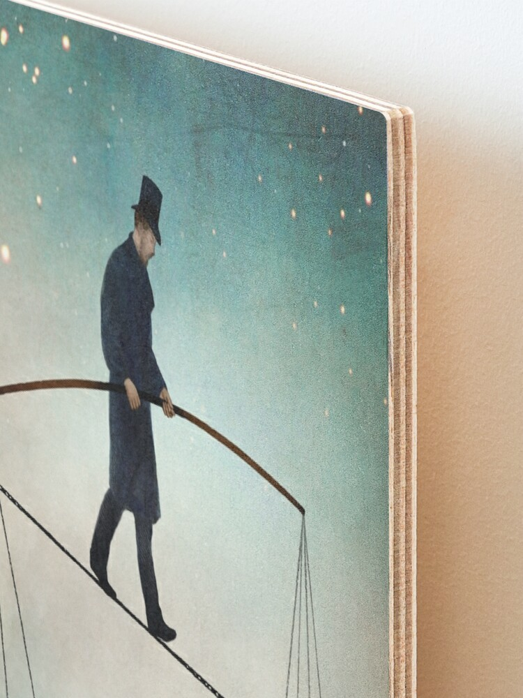 Alternate view of The Balance  Mounted Print