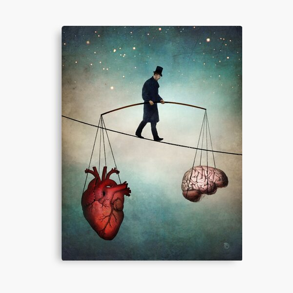 The Balance  Canvas Print
