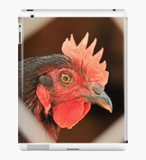 Rooster Through The Fence iPad Case/Skin