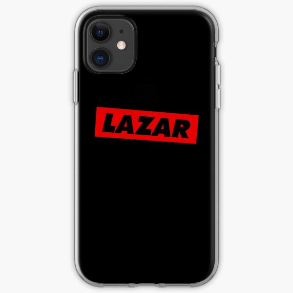 Lazarbeam Logo - Red iPhone Soft Case