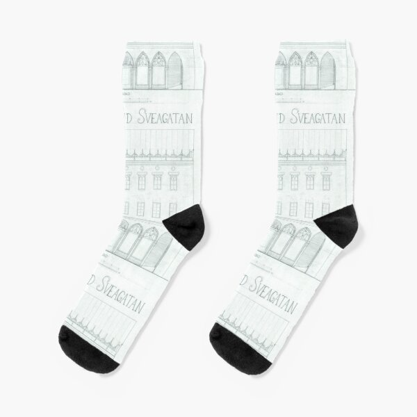 Architecture drawing Socks