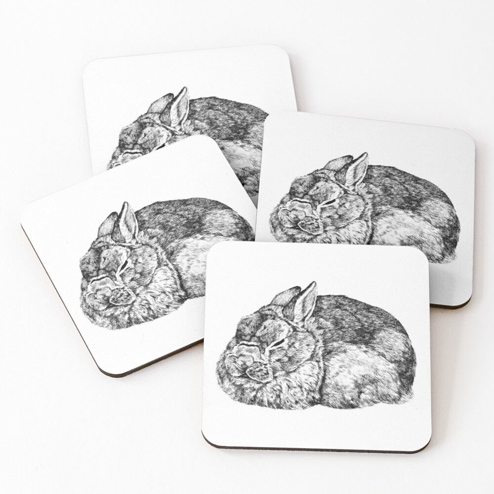 Roger Coasters (Set of 4)