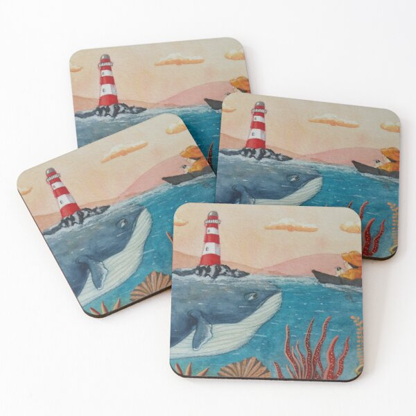 unexpected encounter Coasters (Set of 4)