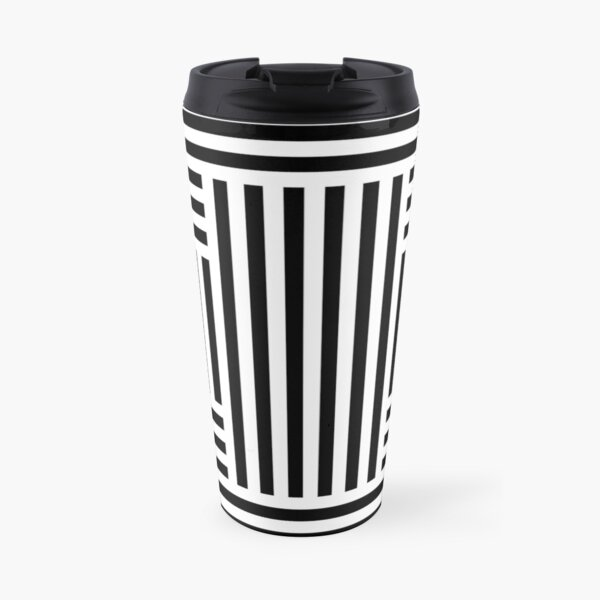 Easy optic illusion Travel Mug