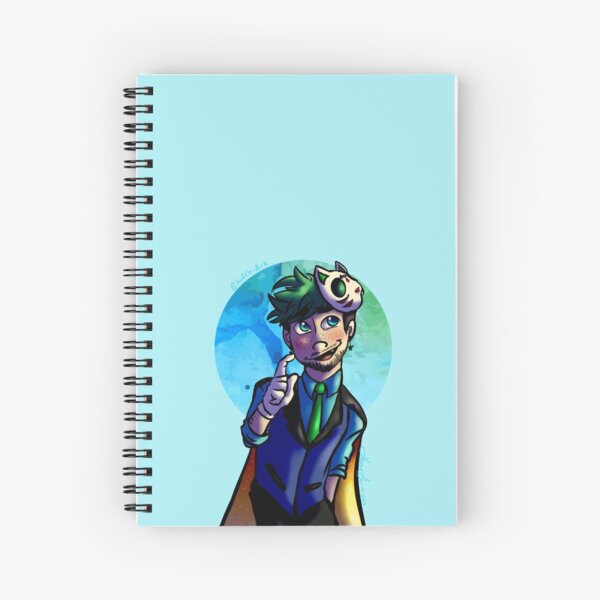 Marvin the Magnificent DTIYS  Spiral Notebook