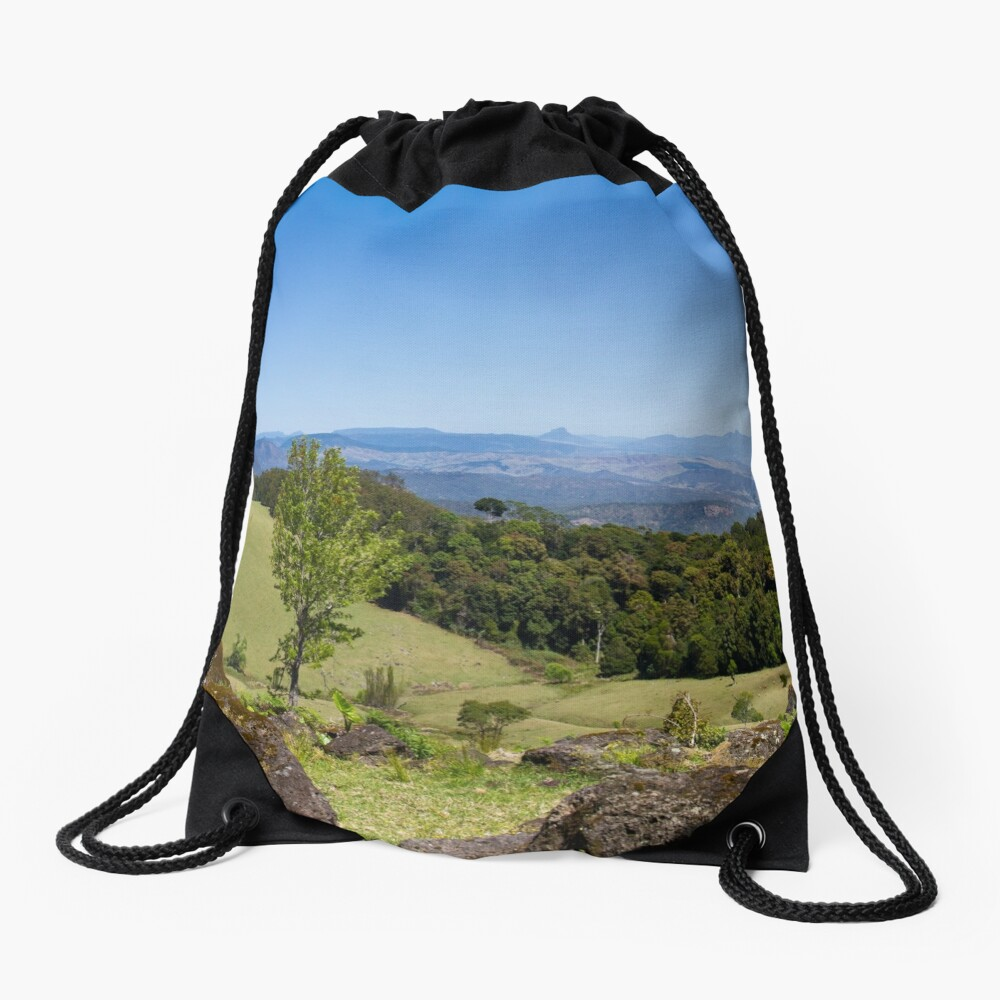Duck Creek Road Drawstring Bag