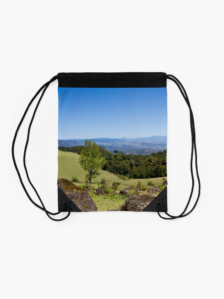 Alternate view of Duck Creek Road Drawstring Bag