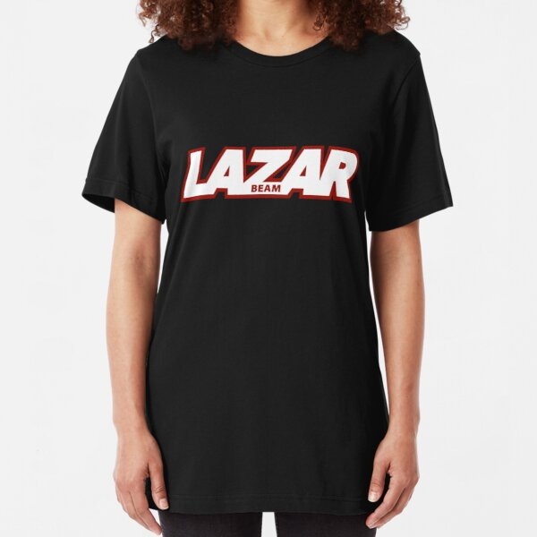 Lazarbeam Logo Slim Fit T-Shirt