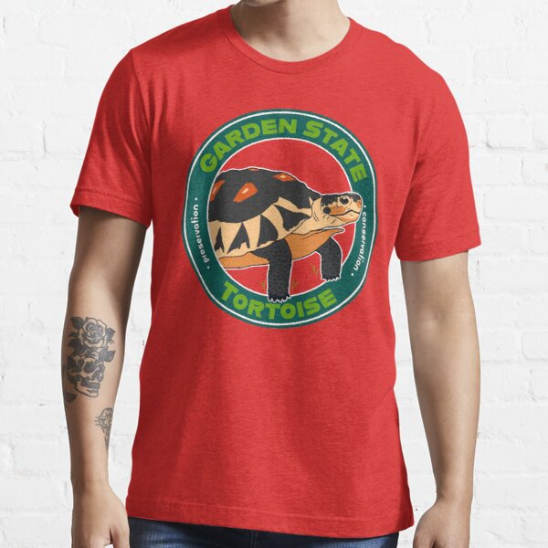 Garden State Tortoise: Angulate Tortoise Essential T-Shirt