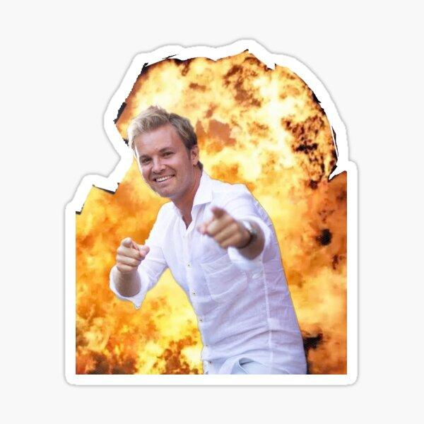 Explosion NR Sticker
