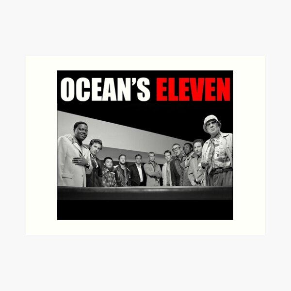 Ocean's Eleven Ensemble (2001) Art Print