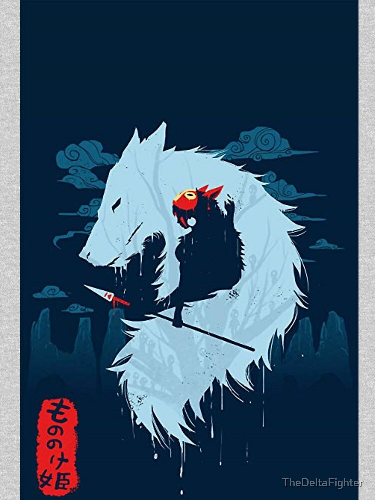 Princess Mononoke Art by TheDeltaFighter