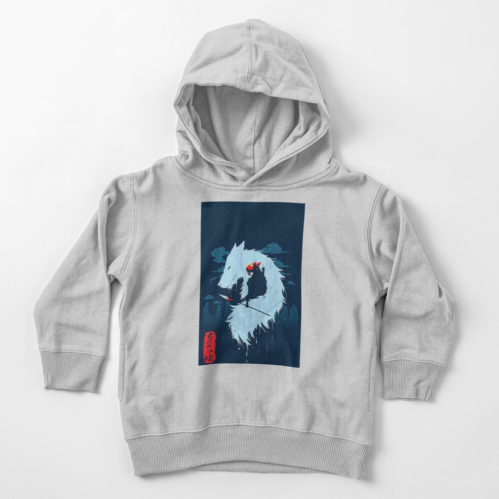 Princess Mononoke Art Toddler Pullover Hoodie