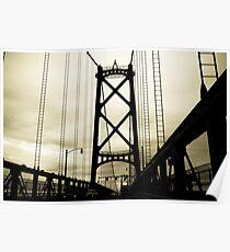 Halifax Bridge Poster