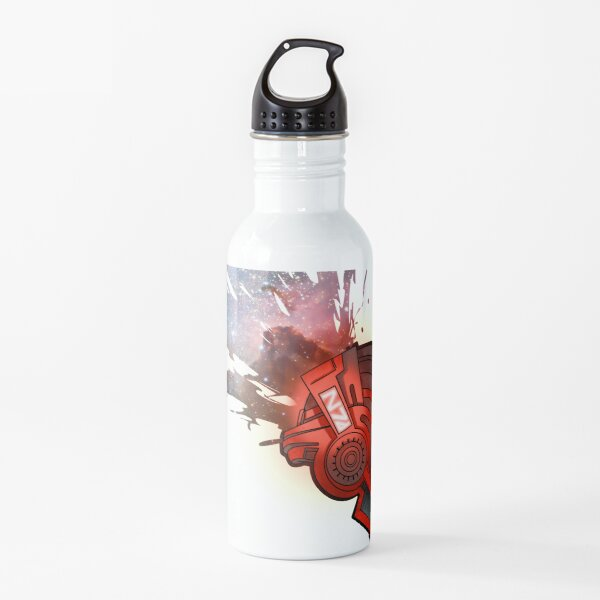 mass effect helmet Water Bottle